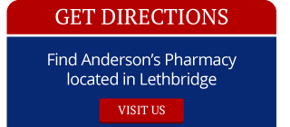 Get Directions | Find Anderson's Pharmacy located in Lethbridge